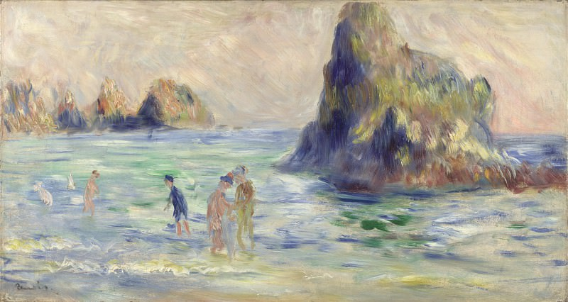 Pierre-Auguste Renoir - Moulin Huet Bay, Guernsey. Part 5 National Gallery UK