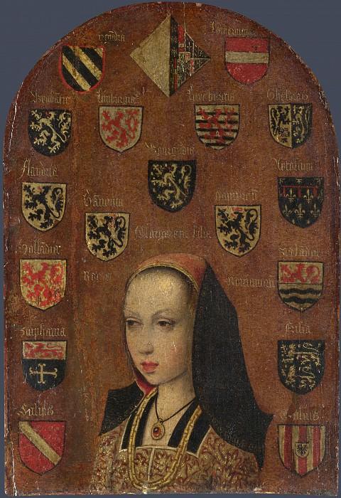 Pieter van Coninxloo - Margaret of Austria. Part 5 National Gallery UK