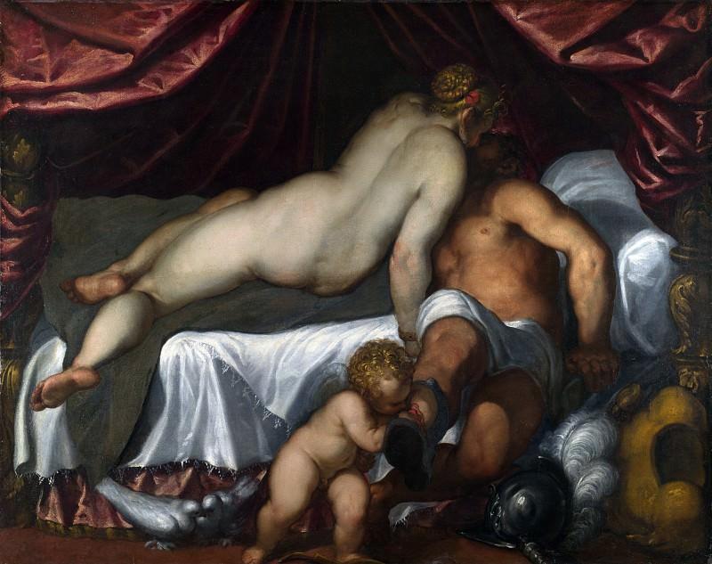 Palma Giovane - Mars and Venus. Part 5 National Gallery UK