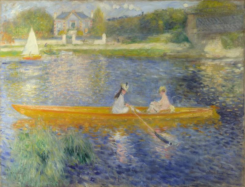 Pierre-Auguste Renoir - The Skiff (La Yole). Part 5 National Gallery UK