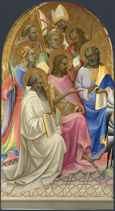 Поклонение святых. Часть 5 Национальная галерея