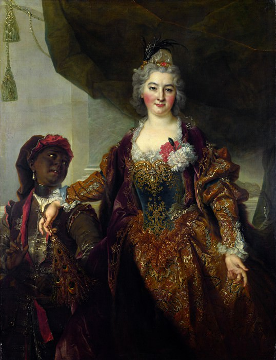 Nicolas de Largillierre - Princess Rakoczi. Part 5 National Gallery UK