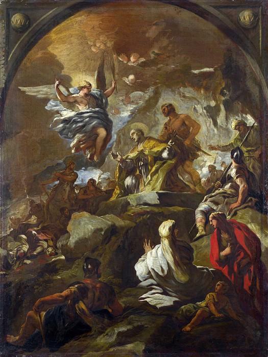 Лука Джордано - Мученичество святого Януария. Часть 5 Национальная галерея