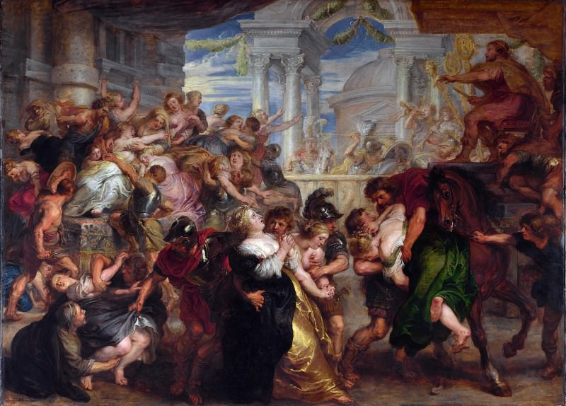 The Rape of the Sabine Women. Peter Paul Rubens