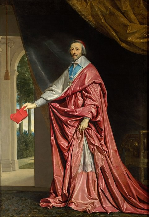 Philippe de Champaigne - Cardinal de Richelieu. Part 5 National Gallery UK