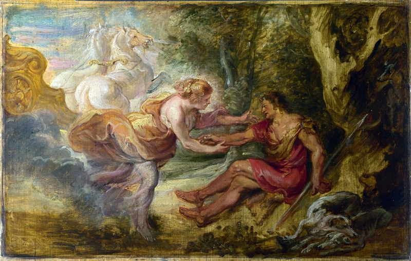 Peter Paul Rubens - Aurora abducting Cephalus. Part 5 National Gallery UK