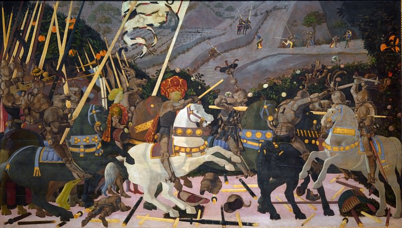 Paolo Uccello - The Battle of San Romano. Part 5 National Gallery UK