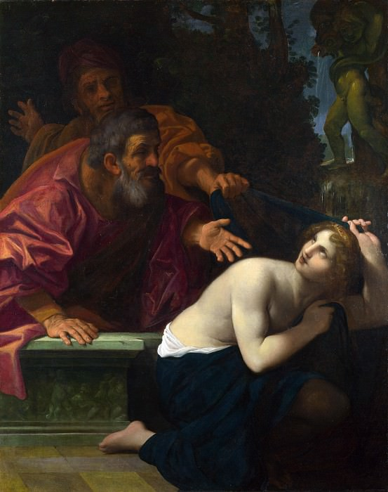 Ludovico Carracci - Susannah and the Elders. Part 5 National Gallery UK