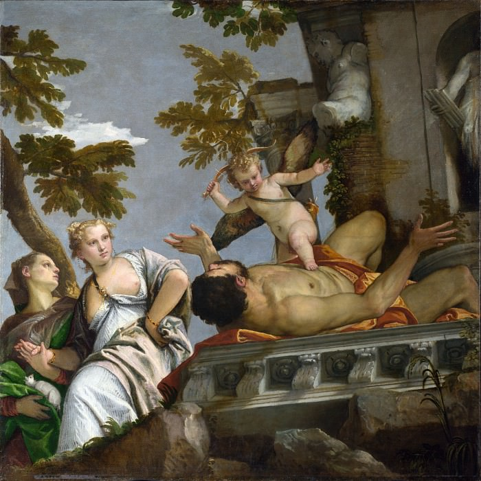 Paolo Veronese - Scorn. Part 5 National Gallery UK