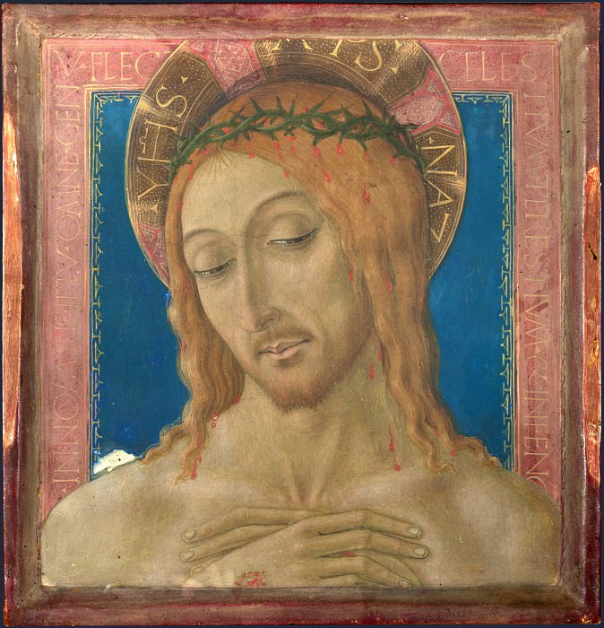 Matteo di Giovanni - Christ Crowned with Thorns. Part 5 National Gallery UK