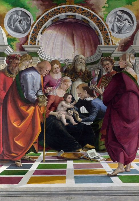 The Circumcision. Luca Signorelli