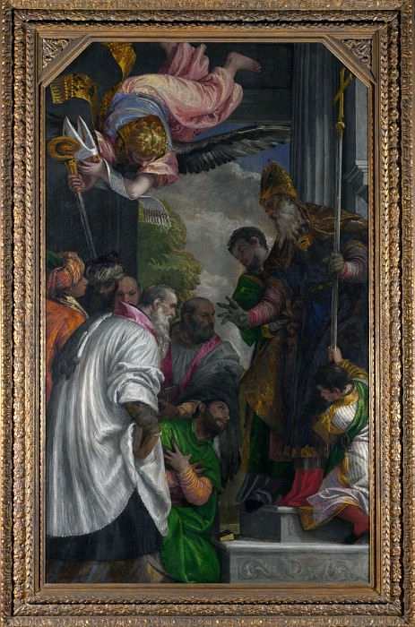Paolo Veronese - The Consecration of Saint Nicholas. Part 5 National Gallery UK