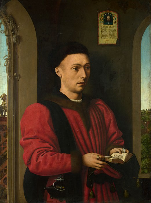 Petrus Christus - Portrait of a Young Man. Part 5 National Gallery UK