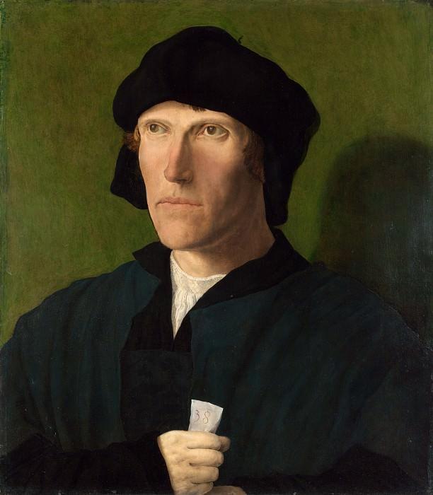 Лукас ван Лейден - Портрет тридцативосьмилетнего мужчины. Часть 5 Национальная галерея