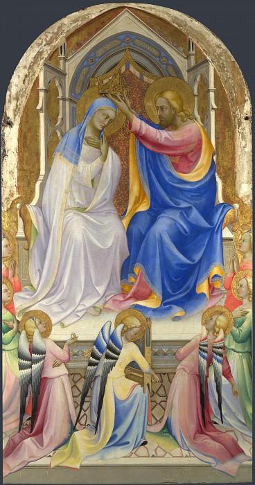 Лоренцо Монако - Коронование Девы Марии. Часть 5 Национальная галерея