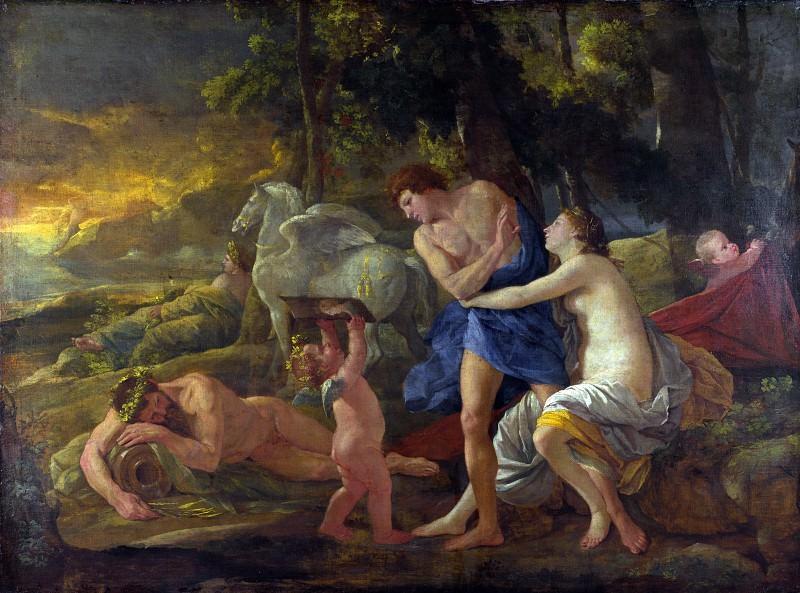 Cephalus and Aurora. Nicolas Poussin