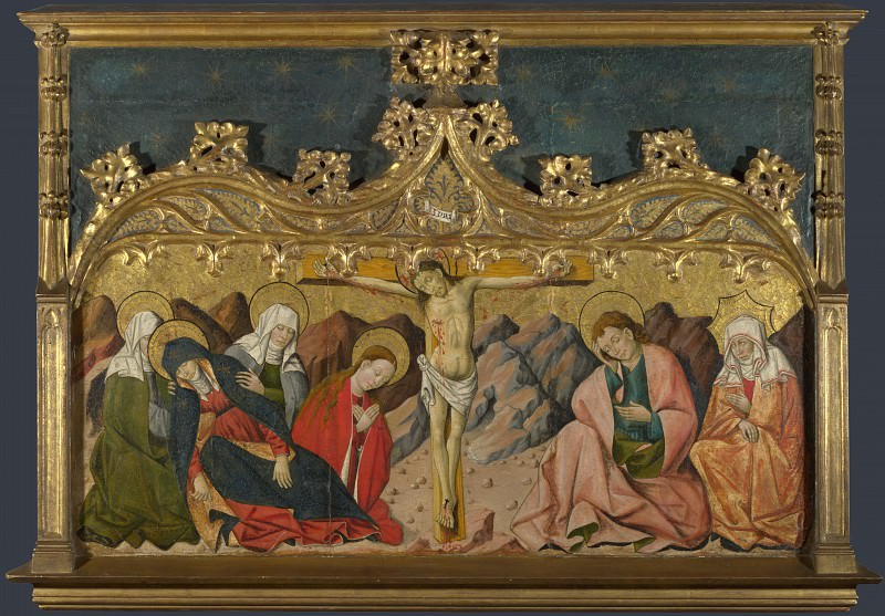Master of Riglos - The Crucifixion. Part 5 National Gallery UK