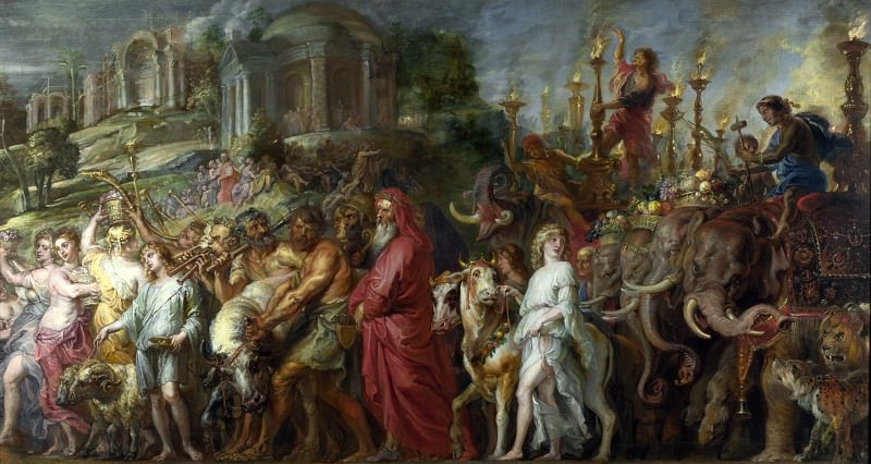 Peter Paul Rubens - A Roman Triumph. Part 5 National Gallery UK