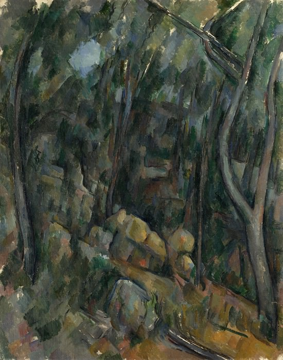 Paul Cezanne - The Grounds of the Chateau Noir. Part 5 National Gallery UK