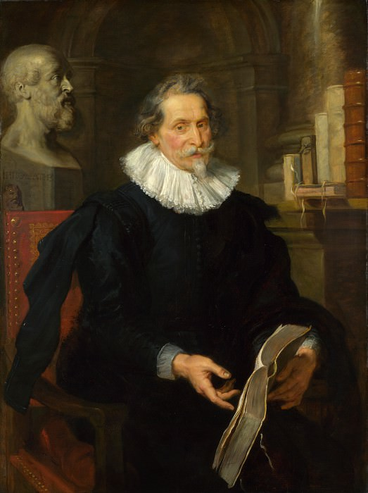 Peter Paul Rubens - Portrait of Ludovicus Nonnius. Part 5 National Gallery UK