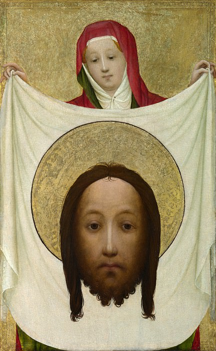 Master of Saint Veronica - Saint Veronica with the Sudarium. Part 5 National Gallery UK