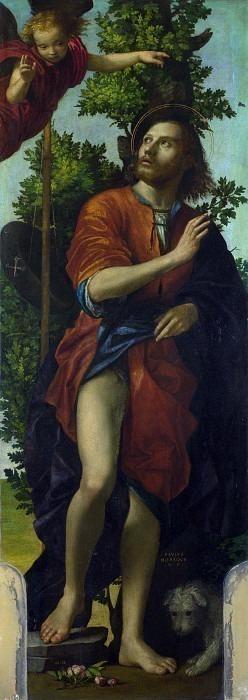 Paolo Morando - Saint Roch. Part 5 National Gallery UK
