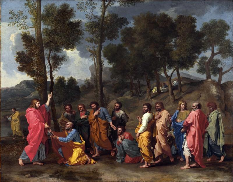 Ordination. Nicolas Poussin
