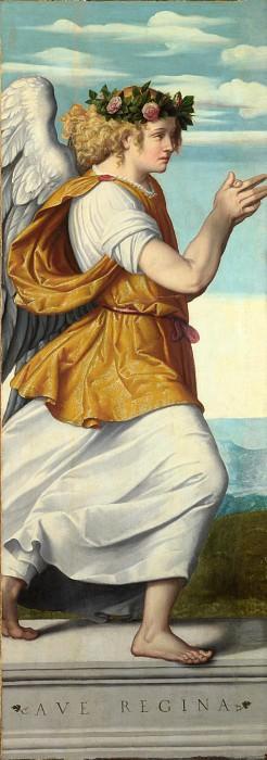Moretto da Brescia - An Adoring Angel. Part 5 National Gallery UK