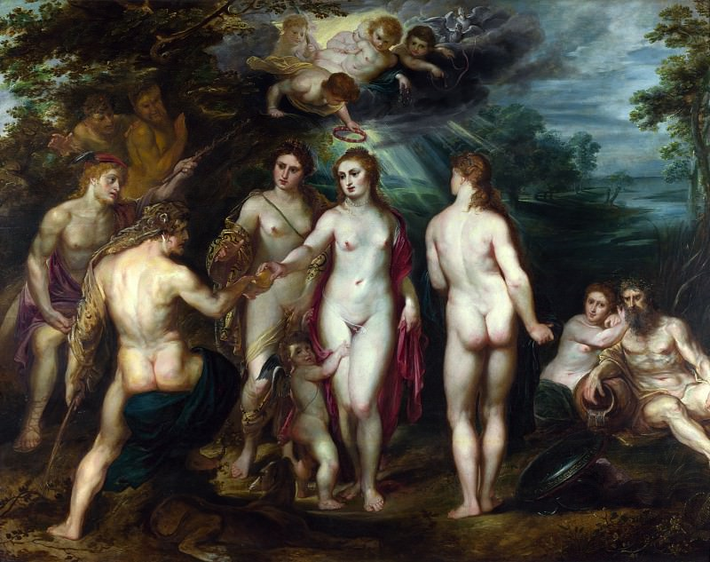 The Judgment of Paris - 1625. Peter Paul Rubens