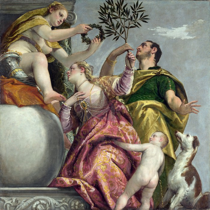 Paolo Veronese - Happy Union. Part 5 National Gallery UK
