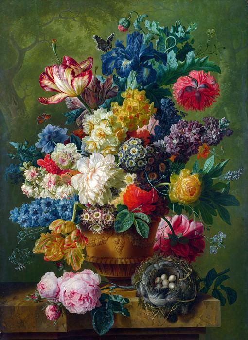 Пауль Теодор ван Брюссель - Ваза с цветами. Часть 5 Национальная галерея