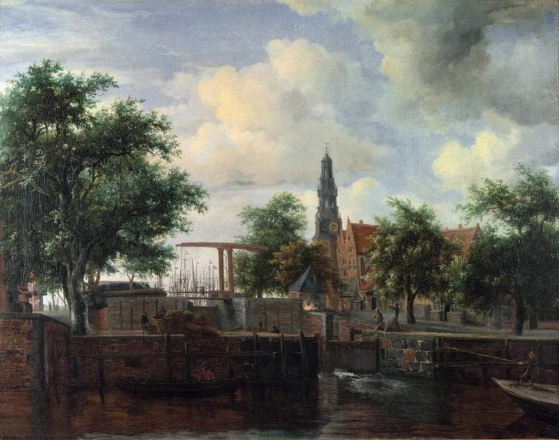 Мейндерт Хоббема - Харлемский шлюз в Амстердаме. Часть 5 Национальная галерея