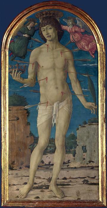 Маттео ди Джованни - Святой Себастьян. Часть 5 Национальная галерея