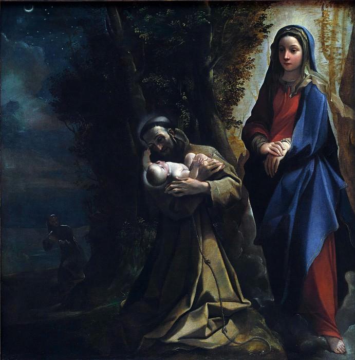 Лодовико Карраччи - Видение святого Франциска. Часть 5 Национальная галерея