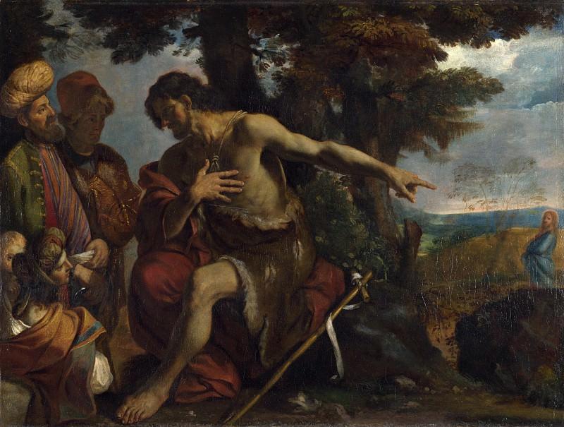 Pier Francesco Mola - Saint John the Baptist preaching in the Wilderness. Part 5 National Gallery UK
