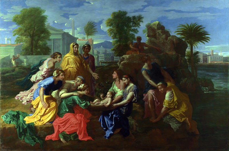 The Finding of Moses. Nicolas Poussin
