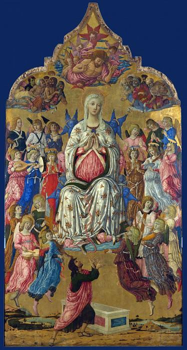 Маттео ди Джованни - Вознесение Девы Марии. Часть 5 Национальная галерея