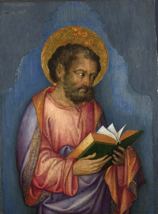 Michele Giambono - A Saint with a Book. Part 5 National Gallery UK