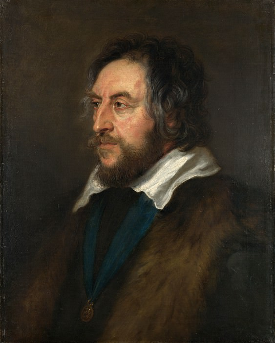 Portrait of Thomas Howard, 2nd Earl of Arundel. Peter Paul Rubens