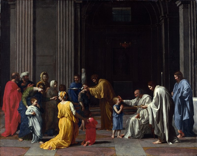 Nicolas Poussin - Confirmation. Part 5 National Gallery UK