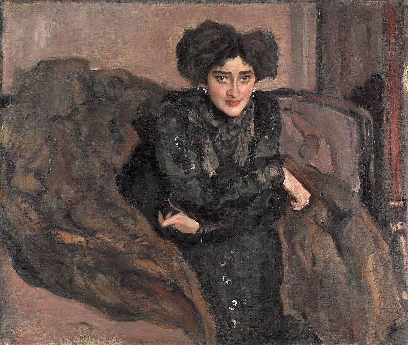 Portrait of Evdokia Ivanovna Loseva. Valentin Serov