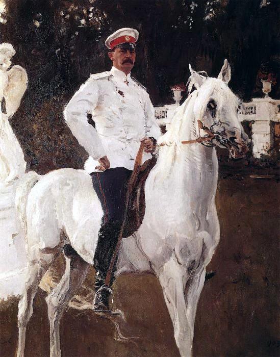 Портрет князя Ф. Ф. Юсупова, графа Сумарокова- Эльстон. 1903. Валентин Александрович Серов
