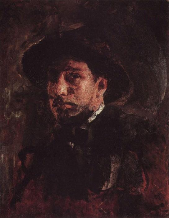 Self 1. 1885. Valentin Serov
