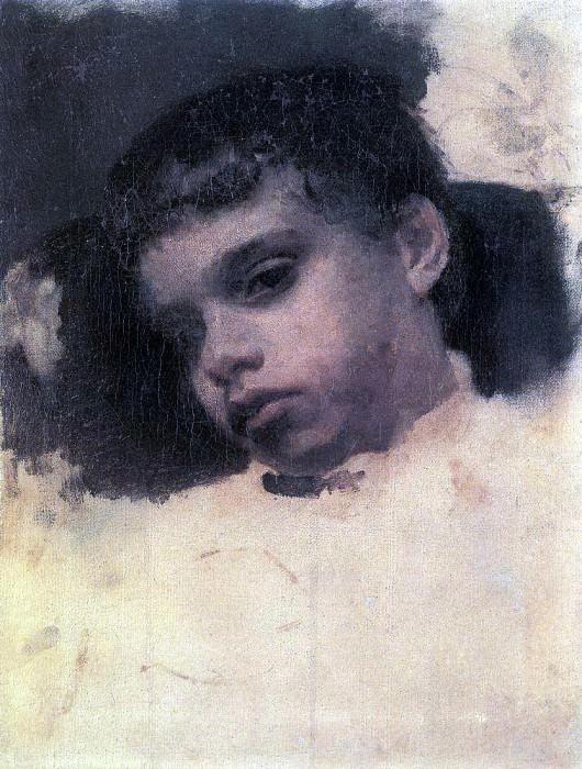 Kolya (Nikolai Yakovlevich) Simonovic. 1880. Valentin Serov