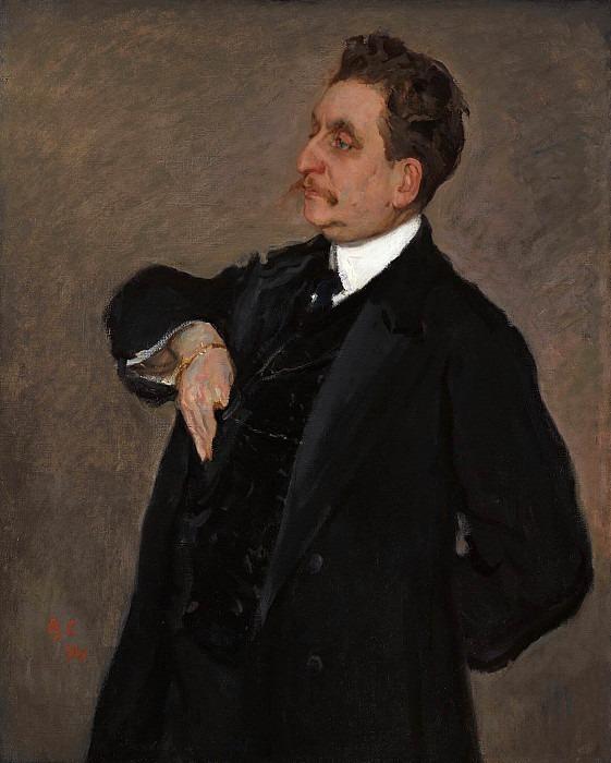 Portrait of V.O. Girshman. Valentin Serov