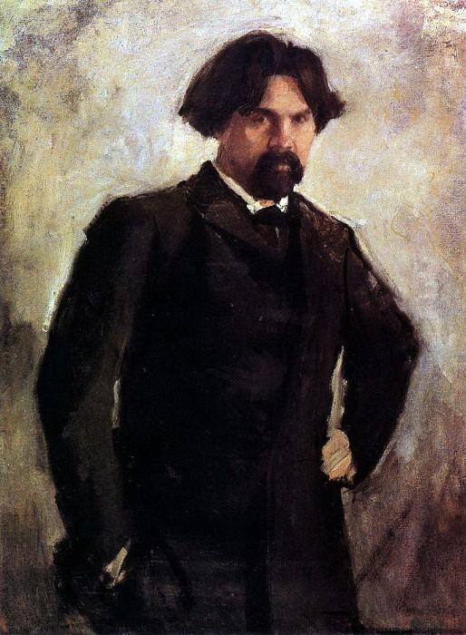 Portrait of the Artist VISurikov. End 1890. Valentin Serov