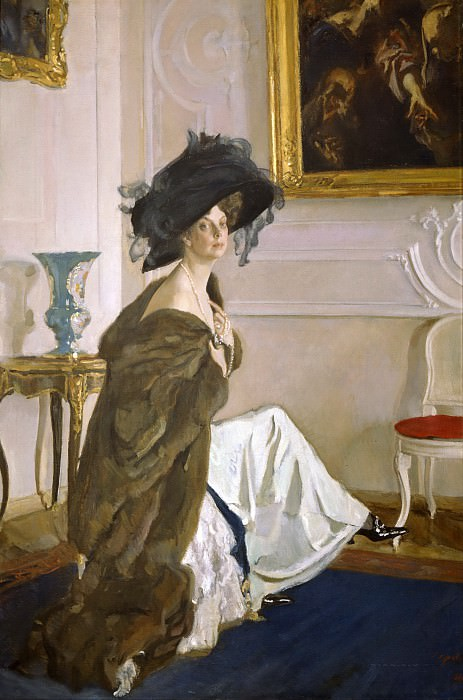 Portrait of Princess Olga Orlova. Valentin Serov