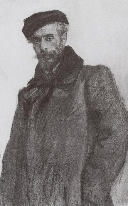 Portrait of Isaac Levitan. 1900. Valentin Serov
