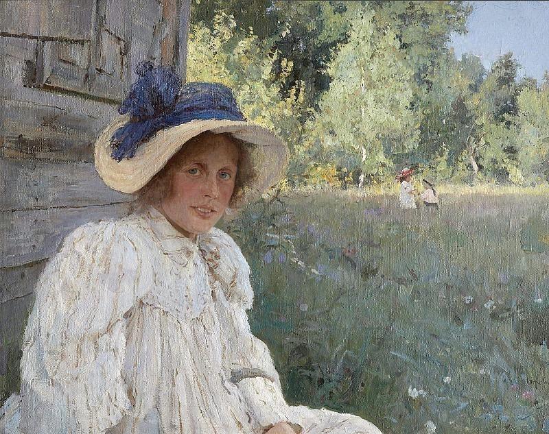 Summer (Portrait of O. F. Serova). Valentin Serov