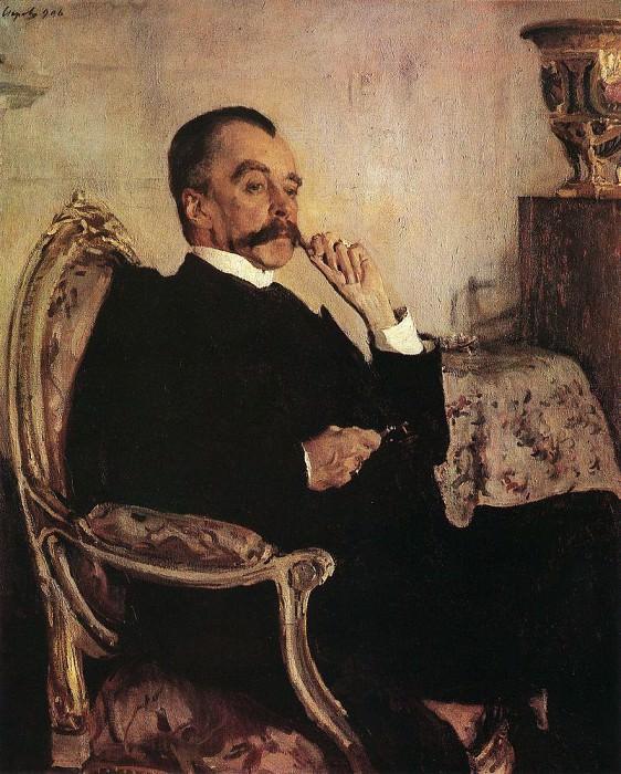 Portrait of Prince. Vladimir Golitsyn. 1906. Valentin Serov